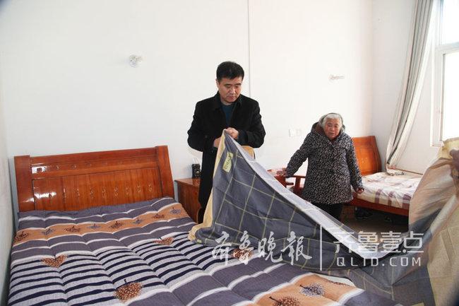 巨野交通:509床棉褥让全县敬老院老人温暖过冬