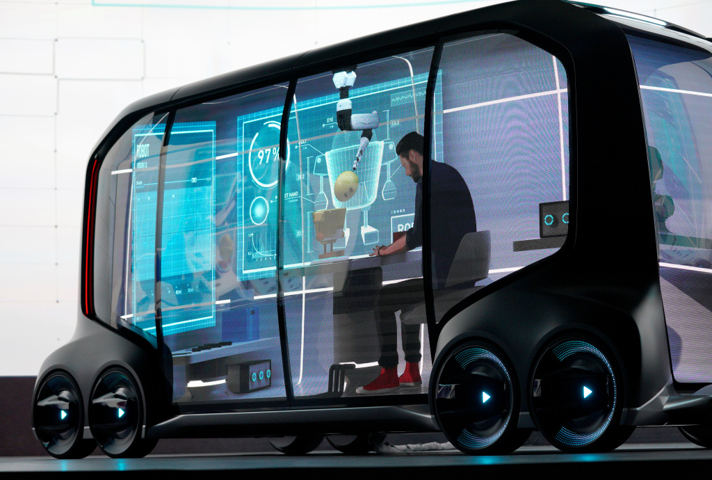 CES 2018:最新科技面面观