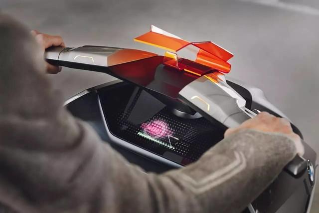 BMW Motorrad Concept Link概念电动车