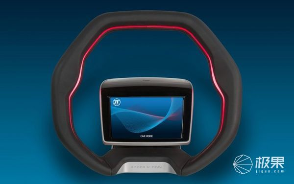 采埃孚推出概念方向盘,适用自动驾驶汽车