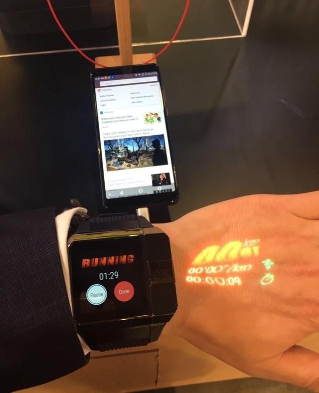CES2018:来自中国ASU Watch的激光显示令人惊艳