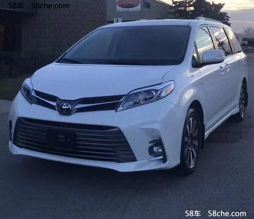 2018款丰田塞纳四驱 顶配现车预售65万