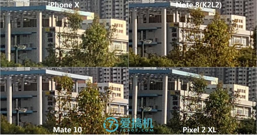 最强PK!Mate 10-iPhone X-Note 8-Pxiel拍照对比