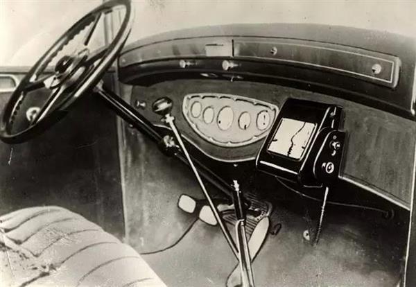 100年前导航啥样 车上屏幕看导航百年史