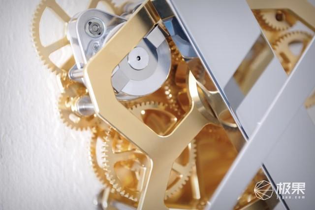 全球限量镀金挂钟,看时间都要考验智商!