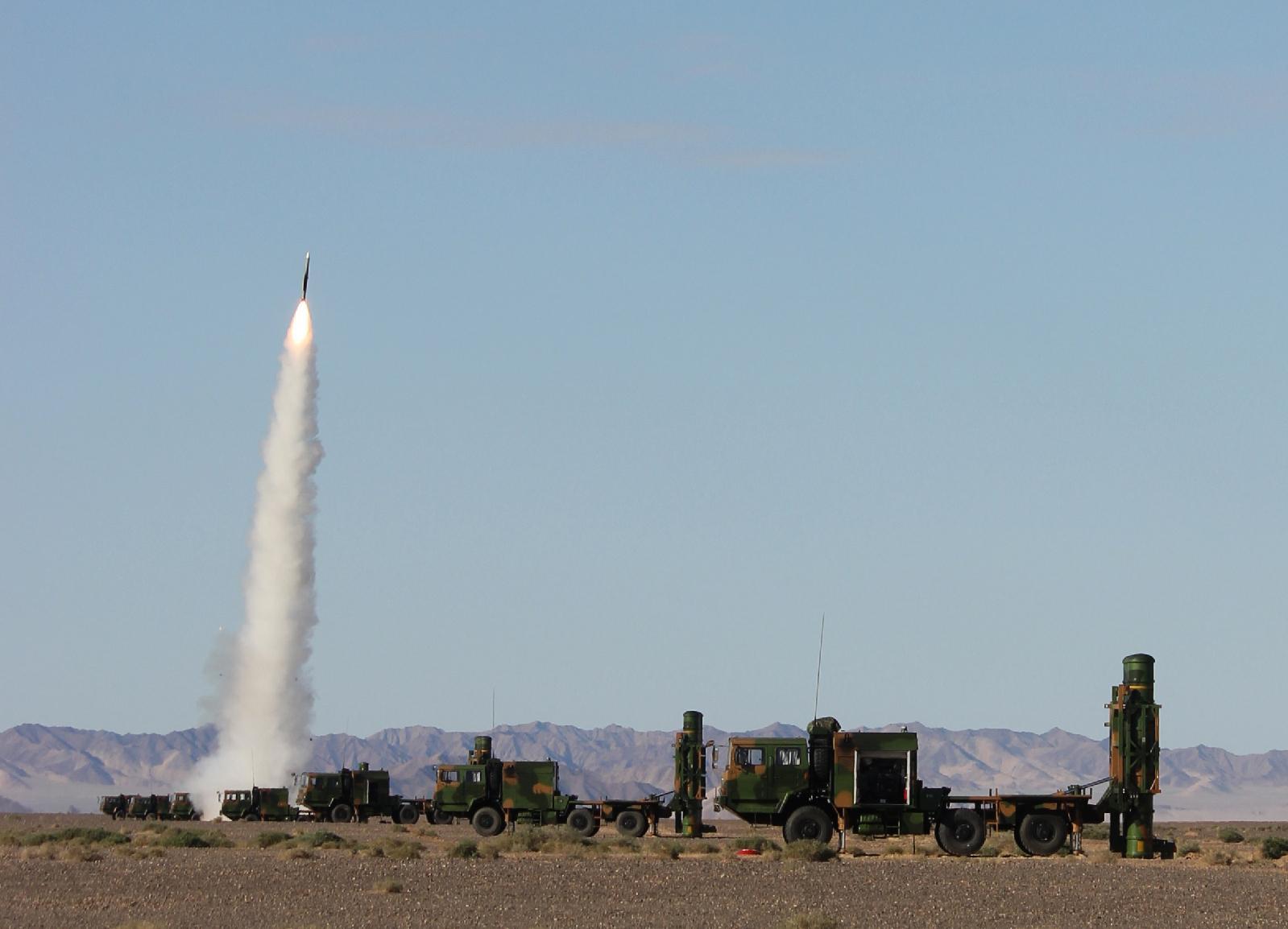 四大现役防空导弹打包卖 中国超美俄创下军贸史第一