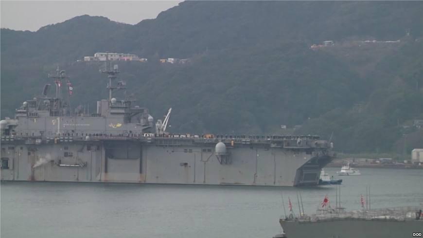 首配第五代战机 美军小航母驻日到位