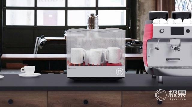 小巧洗碗机亮相CES,烤箱大小售价2000