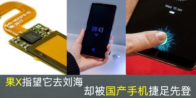 果X指望它去刘海 却被国产手机捷足先登