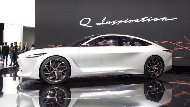 英菲尼迪Q Inspiration概念车正式亮相