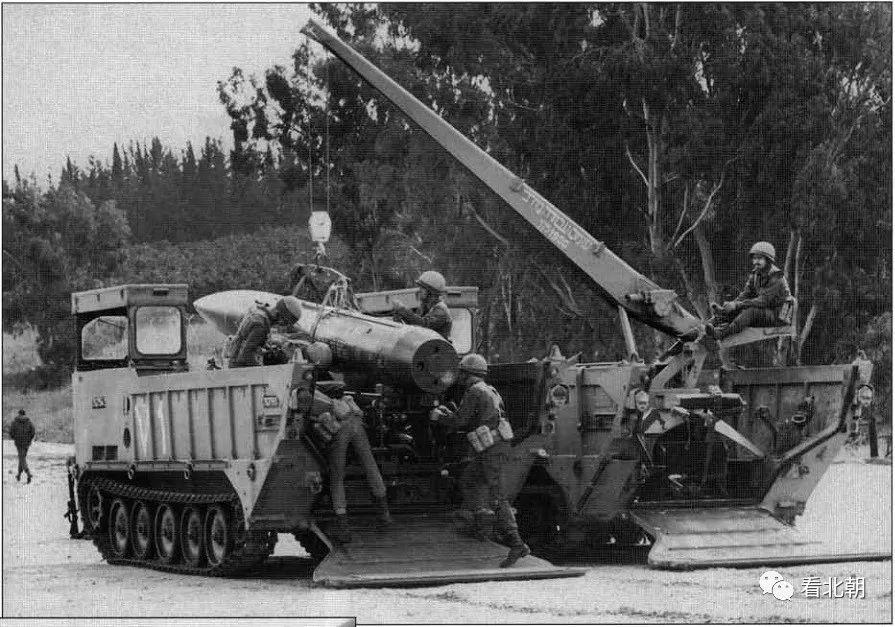 罕见的以色列长矛导弹!黎巴嫩战争老照片