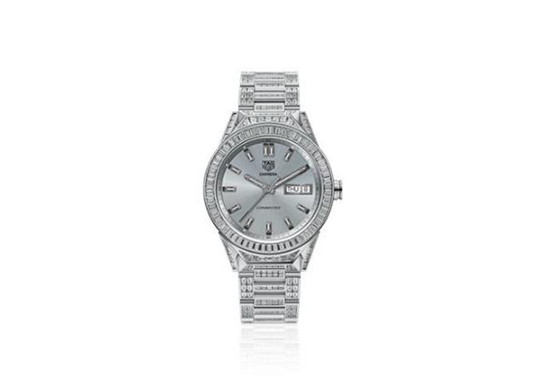 名表制造商泰格豪雅推出最贵安卓手表:127万+589颗钻石
