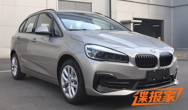 华晨宝马新2系旅行车申报图 运动感增强