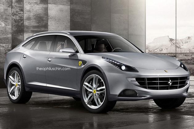 法拉利确认将推出SUV车型 或配混动系统