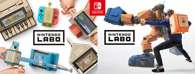 nintendo switch的全新玩法「labo」重新定义体感游戏