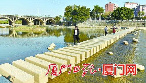 同安推进城市建设 东西溪慢行系统二三期节前完工
