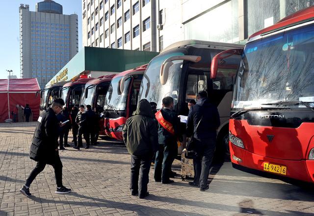 山西太原:邮政春运专车7条免费线路开始预约