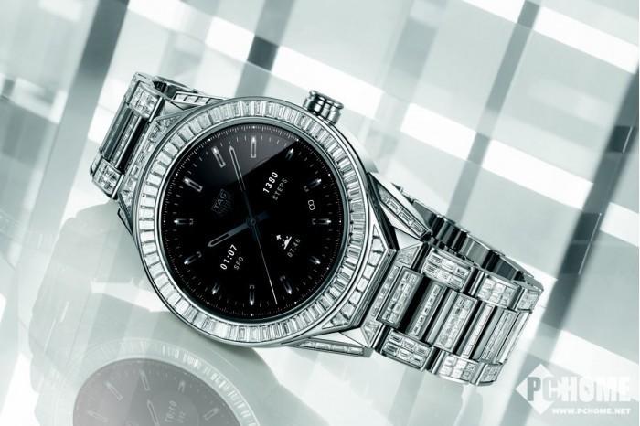 泰格豪雅推出最奢华智能腕表 售价超百万