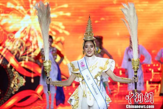 泰国的朴艺莎亮相。 泱波 摄