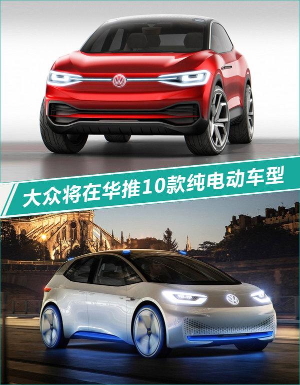 大众将在华投产新一代电动车平台 推10款产品-图1