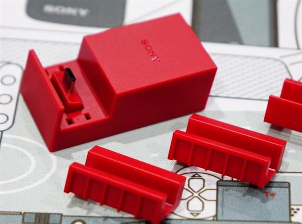 限量10000部 索尼首款Type-C手机充电底座红色款绝版
