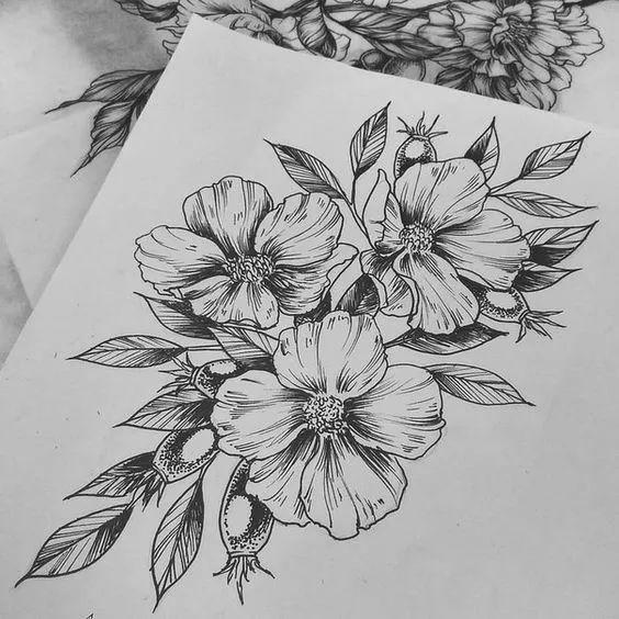 颜料太贵?针管笔手绘也很美