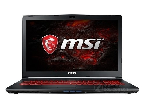 msi微星GL62VR 7RFX-848CN GTX 10系显卡,红色背光键盘,360? 虚拟环绕声,支持VR