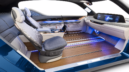 日本松下公司,打造无人驾驶生活舱,展会规模达到2500平方米