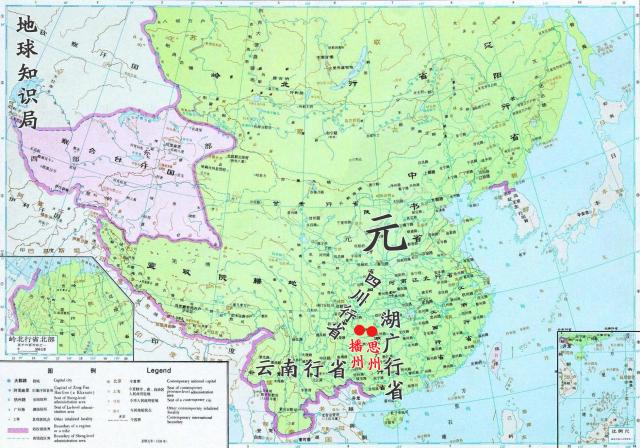 中国贵州广西地图全图