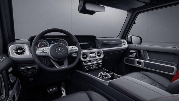 梅赛德斯-AMG新G63官图 更纯粹的G级
