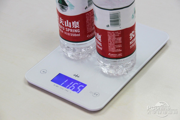两瓶矿泉水的总量