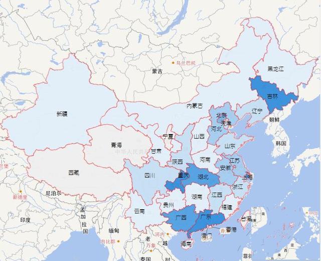 广东上海吉林重庆湖北 你家乡的汽车产量在全国排名第图片