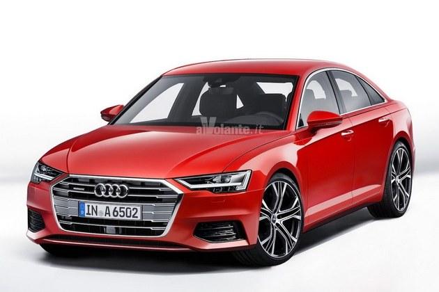 奥迪全新一代A6效果图 于内瓦车展亮相