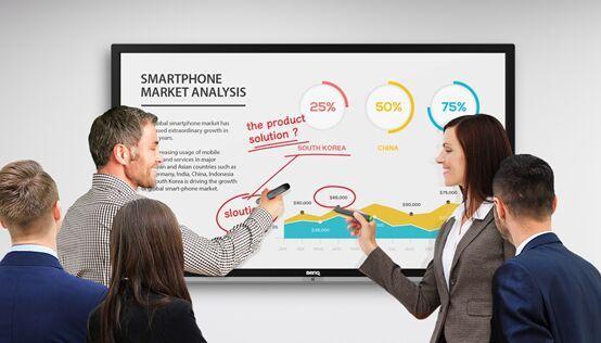 明基智能商务会议平板,分享独有的创意