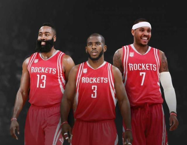 火箭已成3大巨星下家候选 今夏莫雷必造三巨头?
