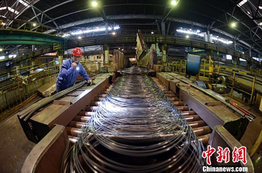 太钢树立了老工业基地转型升级、创新驱动的新样板。太钢新闻中心提供