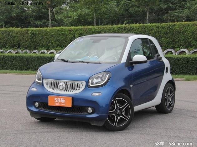 Smart fortwo最新报价 上海优惠2.5万
