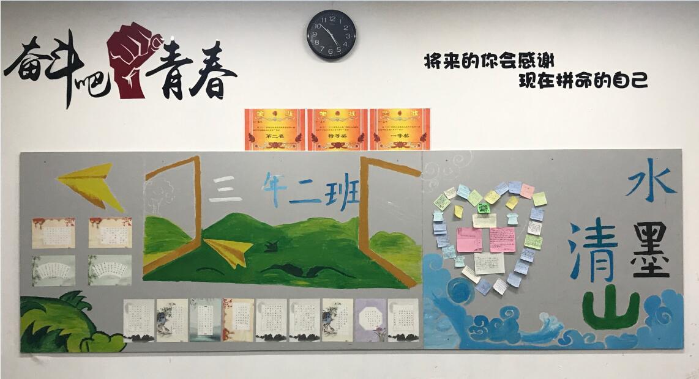 大学教室墙报设计简图