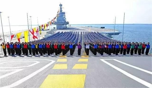 航空母舰--辽宁舰内部是什么样的:海军真实照片公布!