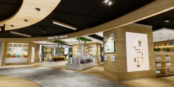进一步提升苏宁易购线下实体门店的互联网元素的体现