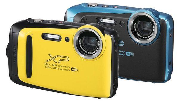 FinePix XP130 配备 1640 万像素的背照式 CMOS 传感器