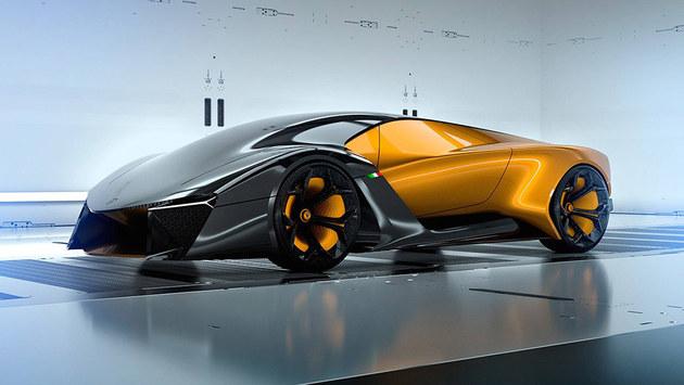 兰博基尼Belador概念车 或采用混合动力