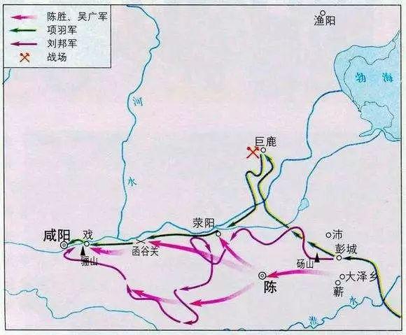 巨鹿之战的持久战:漳河对峙