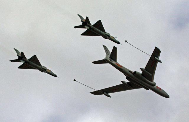 中国获得空中加油技术这个西方大国的帮助功不可没