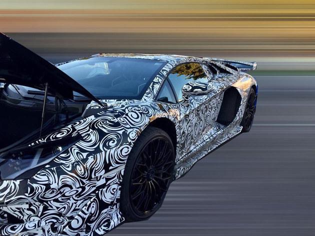 兰博基尼新车谍照 或命名为Aventador GT