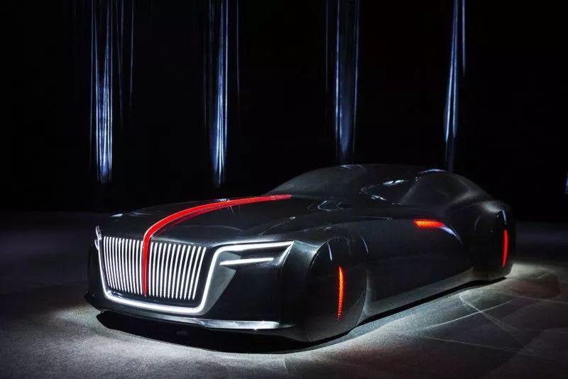 【汽车人】从概念模型雕塑看新红旗设计未来