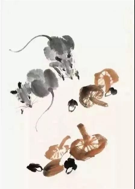 写意蘑菇的画法——详细步骤