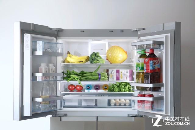 细化分类存储 博世维他保鲜六门冰箱评测