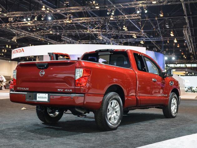 日产Titan将推出V6车型 更贴近日常家用