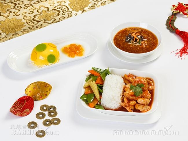 阿联酋航空为中国乘客提供丰富春节美食